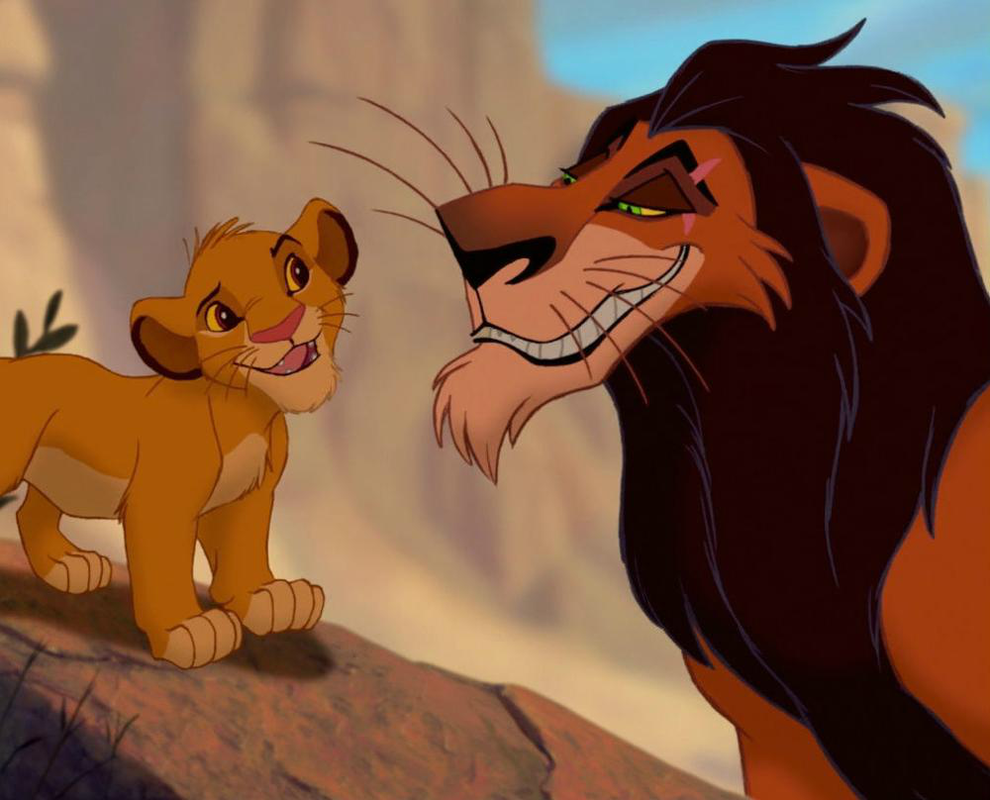 Lion king characters scar - photo#15